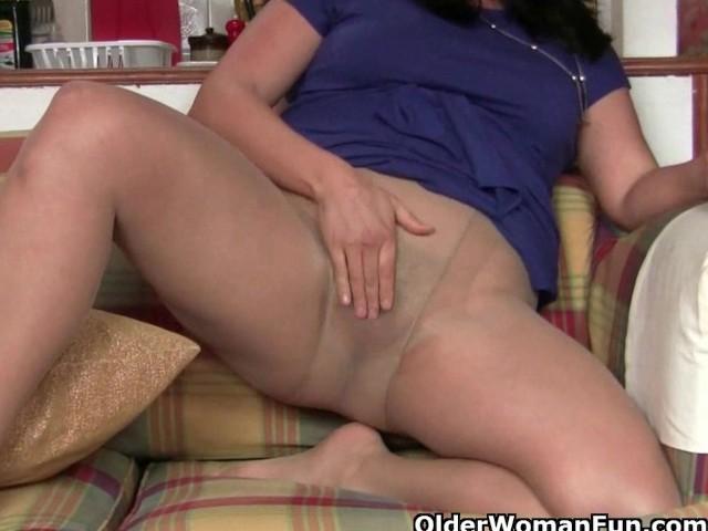 Pantyhose granny nylon3D