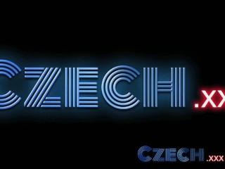 Czech Teen lesbians enjoy oily massage and deep finger fun