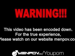 HD - MenPOV Cute guys fuck in front of mirror