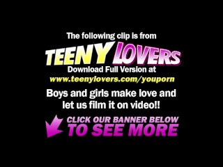 Teeny Lovers - Bisex teens ride face and cock