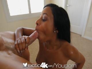 4K – Exotic4K Fiery ebony slut Anya Ivy pounded by massive pecker