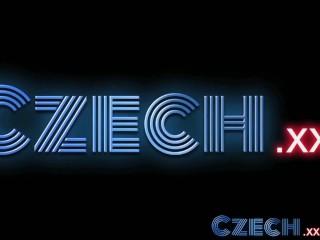 Czech Innocent teen lesbian gets finger fucked until climax
