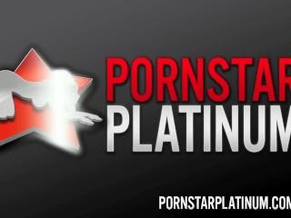 PornstarPlatinum - Alura Jenson fucking in the kitchen