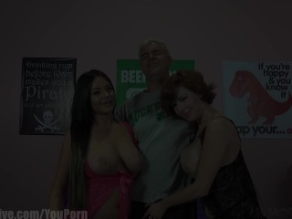 ImmoralLive Horny Mature MILF Veronica Avluv and her squirting girlfriend!