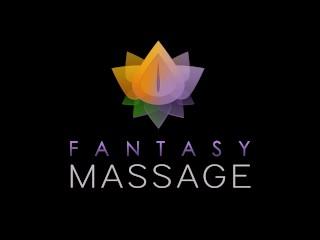 FantasyMassage Dani Daniels Lesbian Nuru Experiment