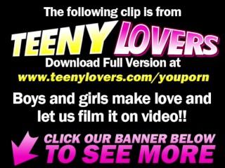 Teeny Lovers - Teeny fucked on massage table