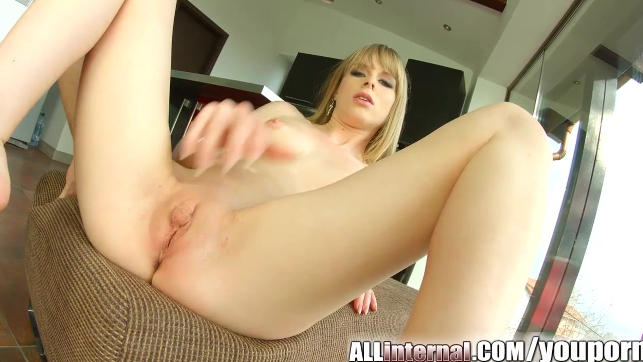 Allinternal blonde takes a big dick in her tight ass 10