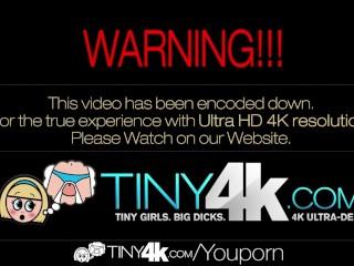 4K HD - Tiny4K Teen Natasha White loves huge cock