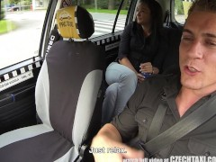 Picture CzechTaxi Multiple Female Orgasm in the Back...