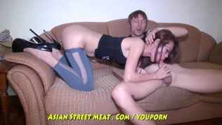 Asian Street Meat XXX  Buggered Filipina Up Her Rectum