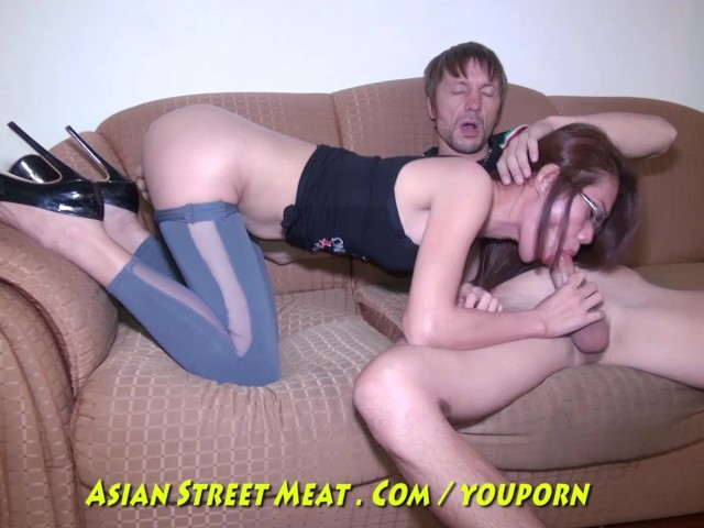Shaved Asian Solo Squirt