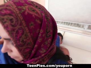 TeenPies – Arab Whore Praises Ah-Laong Cock
