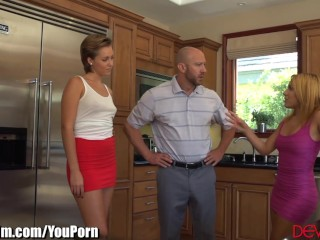 DevilsFilm Wife Watches Husband Fuck Mistress