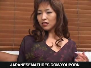 Strong porn pleasures for hot Kyoko Izumi