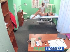 Picture FakeHospital Hot blonde loves the doctors mu...