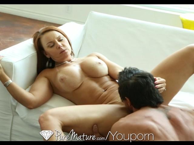 Hd Puremature - Hot Curvy Janet Mason Sucks Guys Hard Cock -9726