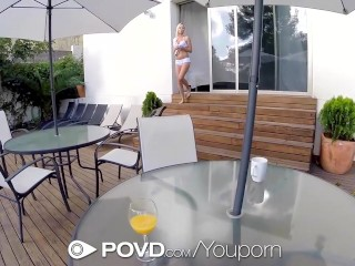 HD POVD - Naive Naomi Nevena begs for dick in her pretty ass