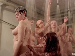 Picture Dyanne Thorne, Lina Romay and Tania Busselie...