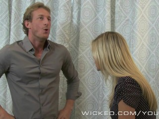 Wicked - Scarlet Red gets fucked in the bathroom