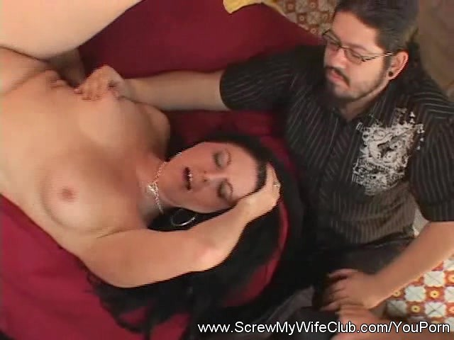 Black Cock Cums My Wife