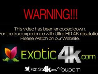 4K Exotic4K - Hot ebony dance Kira Noir is fucked in every positions