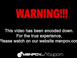 HD MenPOV - Guys have fun with a sex swing