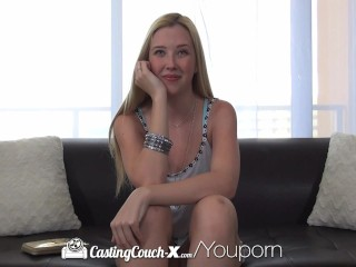 HD CastingCouch-X - Pretty Samantha Rone gets tight pussy fucked