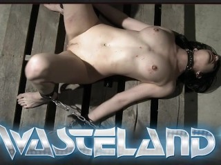 Wasteland/dominatrix/tied given blonde by sex