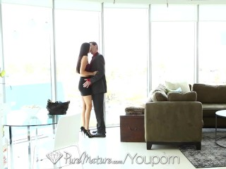 HD PureMature - Juicy oral creampie with Nikki Daniels