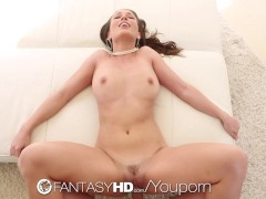 Picture Lily Love deep throats a huge cock - Fantasy...