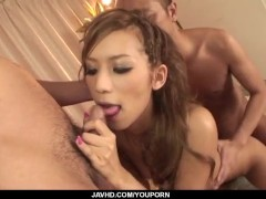 Picture Ramu Nagatsuki goes nasty when feeling cocks...