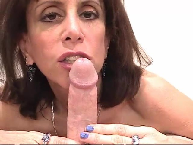 Mature Woman Sucks Young Cock