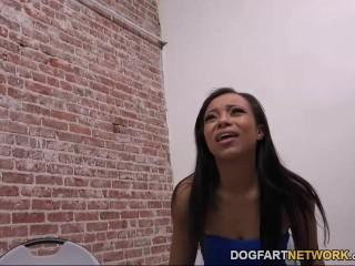 Adrian Maya Having Interracial Sex At A Glory Hole At Dogfart Network