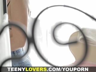 Teeny Lovers - Teeny gets massaged and fucked