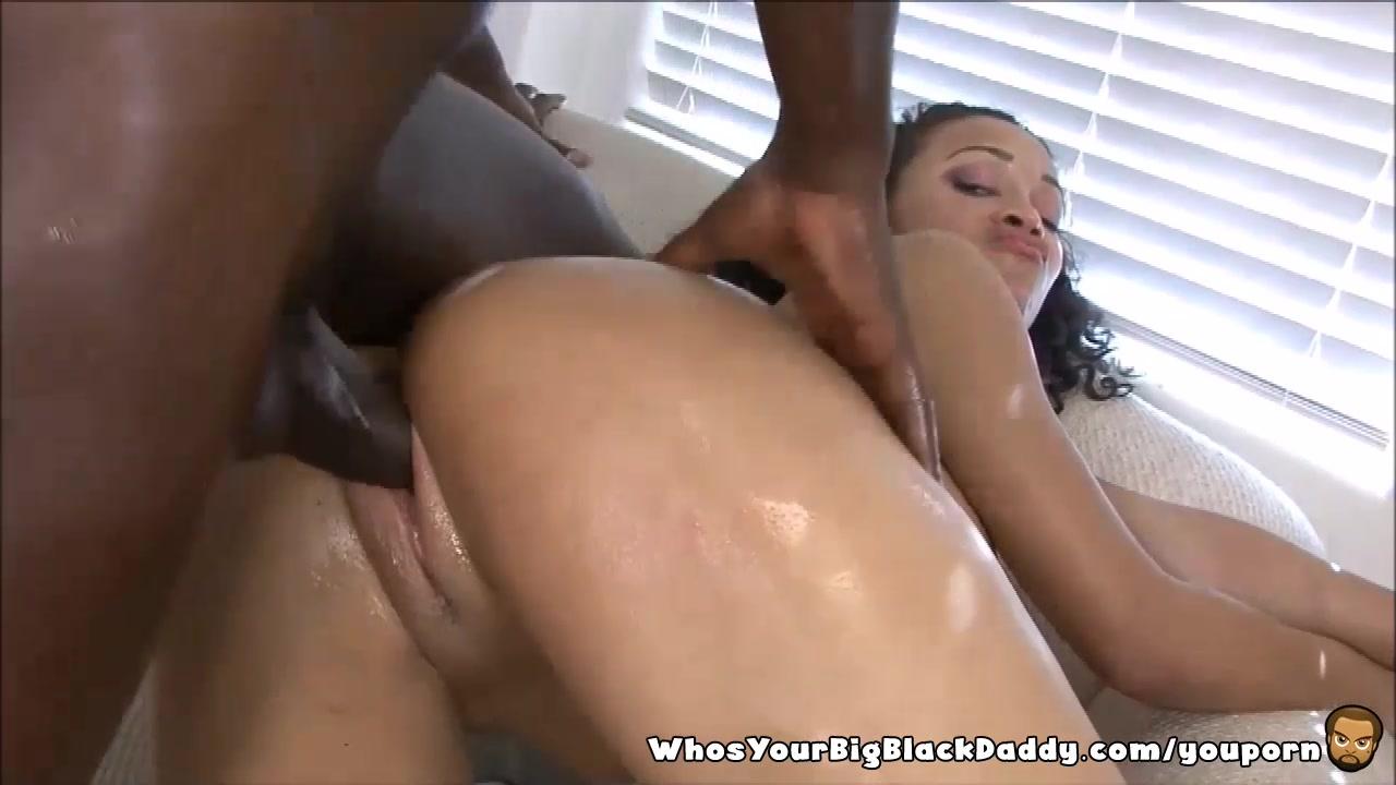 Deep wet black pussy