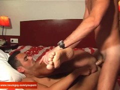 Picture Handsome Room service guy gets fucked by a c...