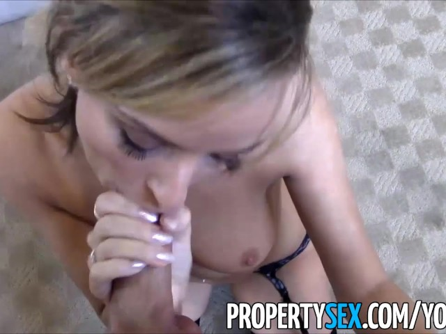 Petite Blonde Real Estate