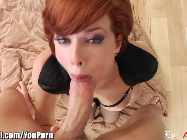 Ebony Deep Throat Swallow
