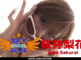 Cock suckingRika Sakurai gets busy with a strong cock