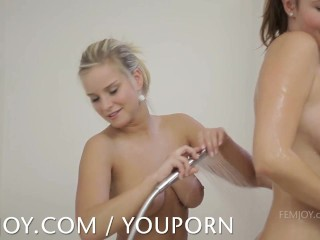 Marry Queen showers with Connie Carter