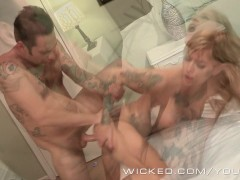 Picture Wicked - Kleio Valentien gets fucked in a mo...