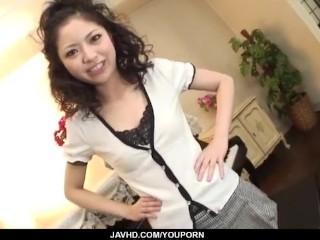 Hana Japan schoolgirl fucked during lunch break