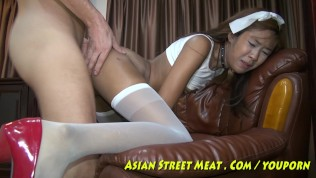 Asian Street Meat XXX  Street Waif On Hot Offer In Asian Slum