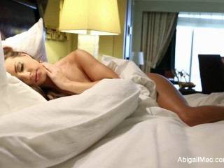 Hotel sex with Marcus & Abigail