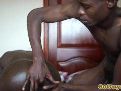 Picture Closeup african barebacking twinks at home