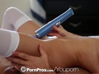 PornPros - Petite blonde Sammie Daniels breaks out her sex toys