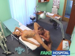 Picture FakeHospital Ripped stud gets the naughty nu...