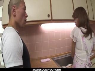 Homemade POV sex with curvy ass Hikaru Wakabayashi