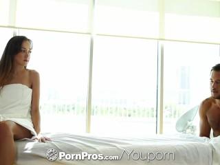PornPros - Brunette Victoria Rae Black gets a happy ending massage