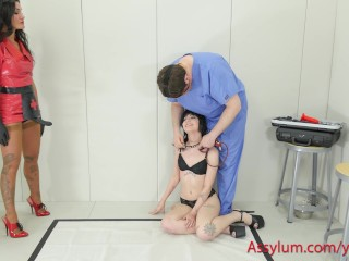 Hot 20 year-old alt girl gets spanking, ass fucking, and harsh domination